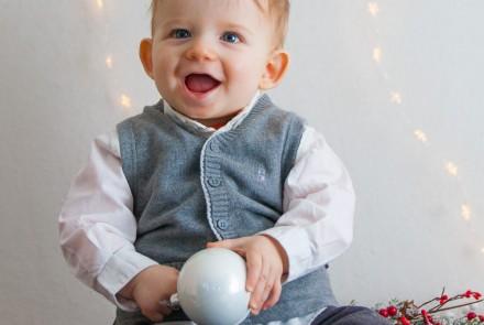 Mini Seance photo de Noel avec Bébé
