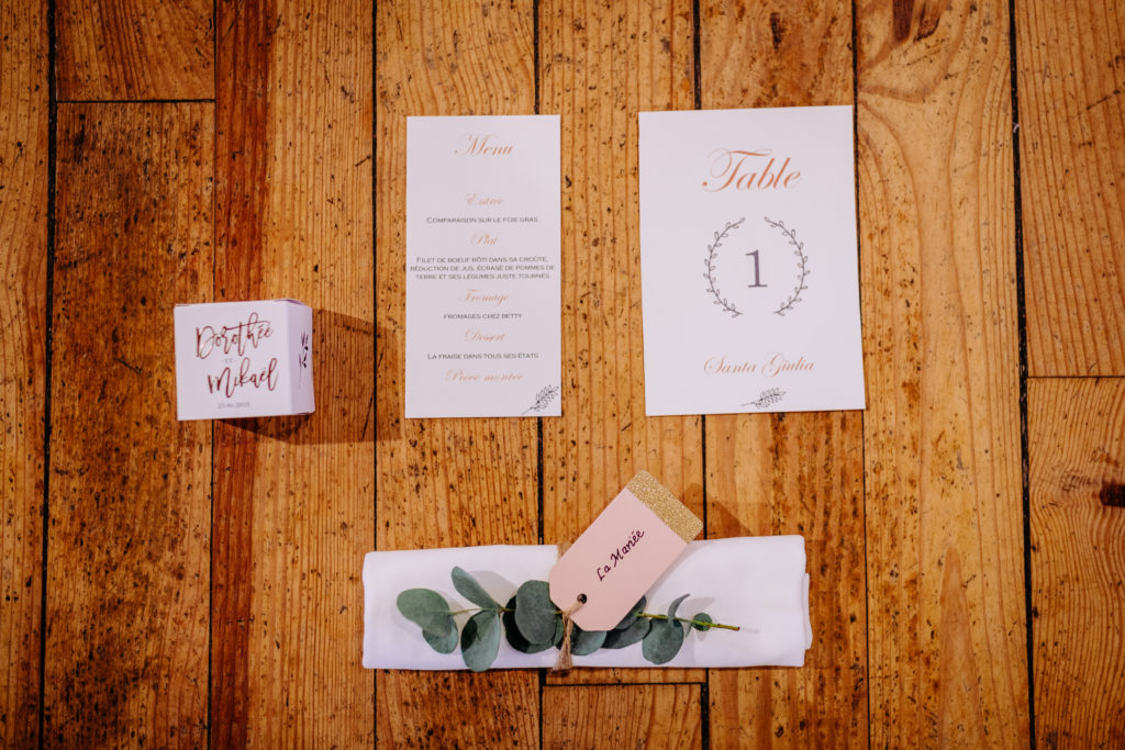 photo papaterie mariage
