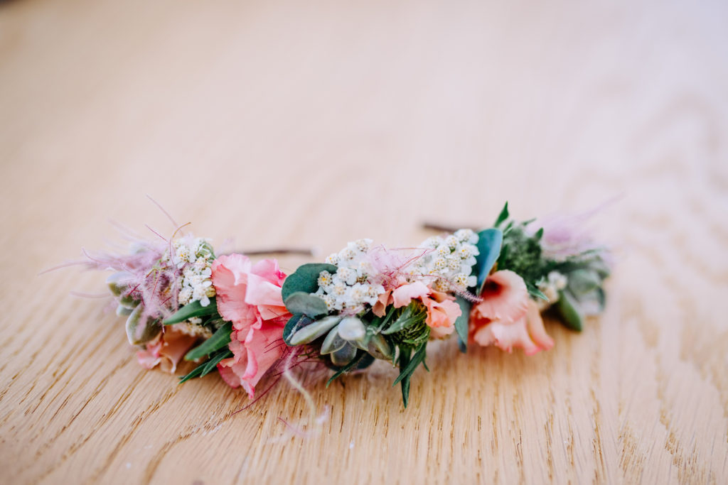 Photo fleurs deco mariage