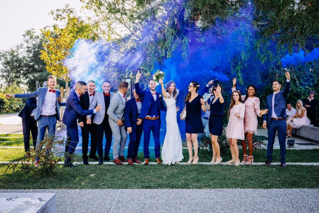 photo groupe mariage original peps petillante acidulée