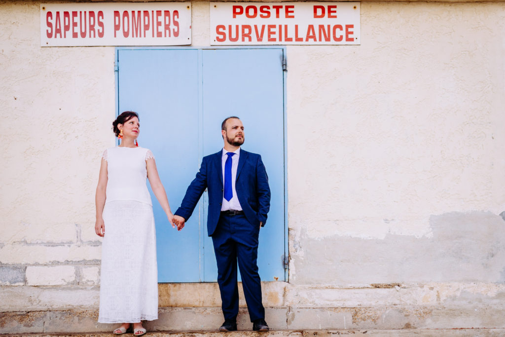 Photo couple Mariage cool