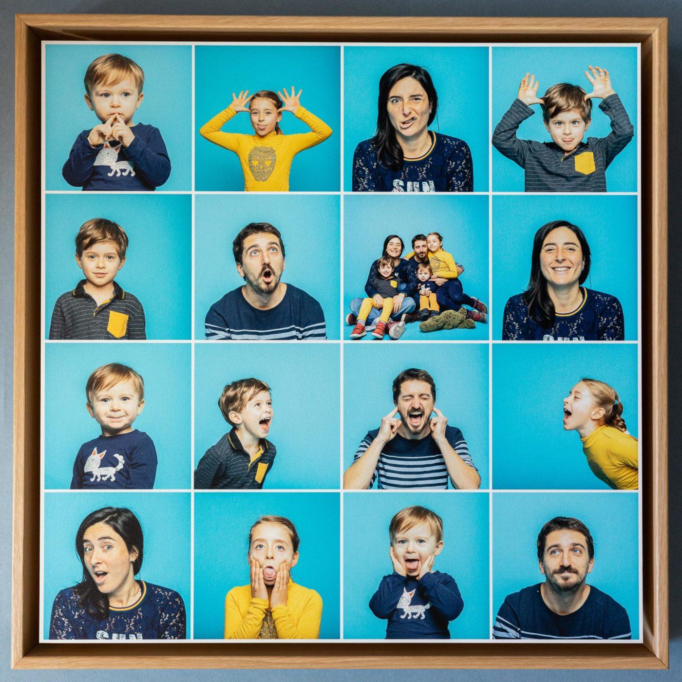 portraits de famille en Studio toulouse