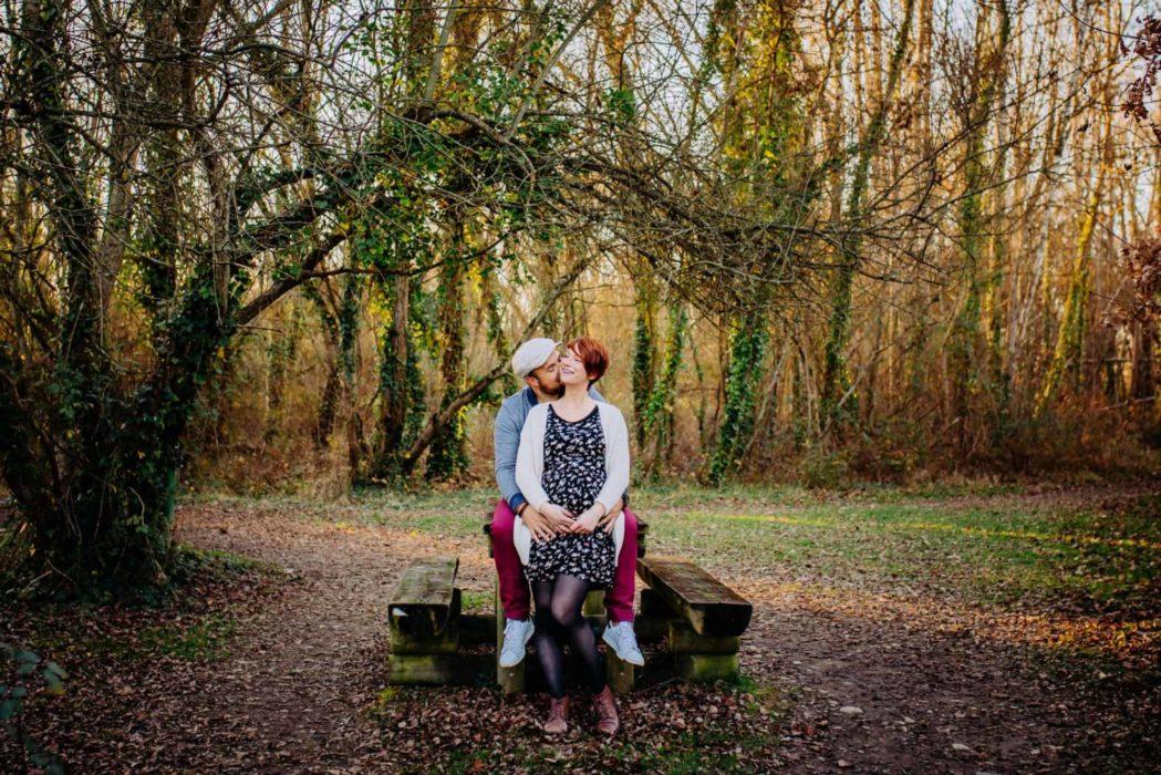 photographe maternité couple exterieur toulouse colomier cugnaux