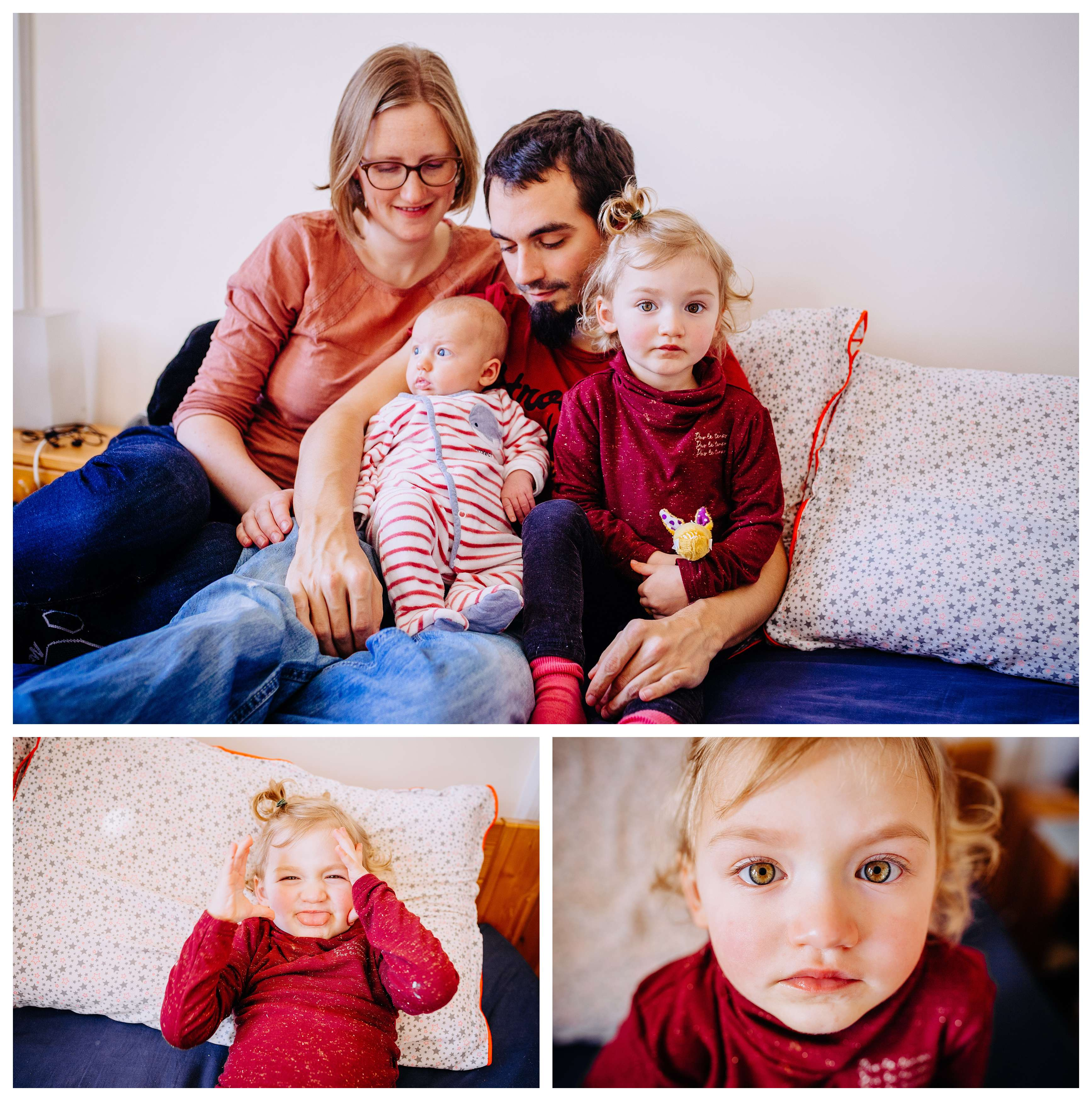 seance famille naissance