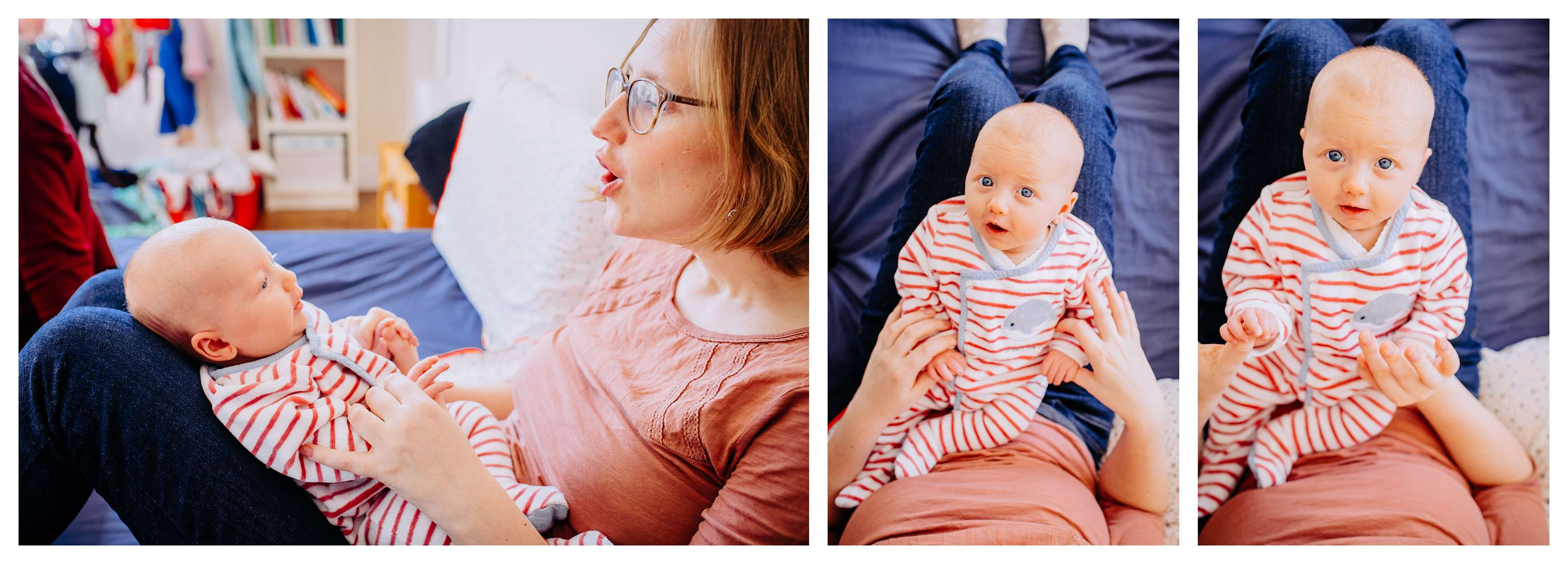 séance bébé avec maman