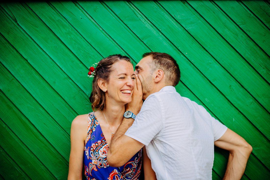 mariage original photo de couple la téouliére
